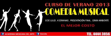 CURSO DE VERANO - Comedia Musical - Coyoacan
