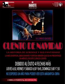 Cuento de Navidad - Charles Dickens- en Coyoacan