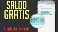 SALDO GRATIS CUALQUIER COMPAÑIA